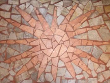 Beautiful Floor With Broken Tiles Floor Design In 2019 Tile