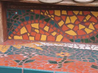 Broken Tile Mosaic Projects